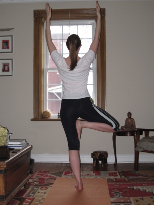 Tree Pose--another work in progress!
