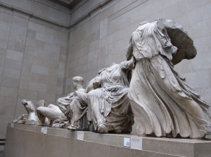 Winged Nike in the British Museum
