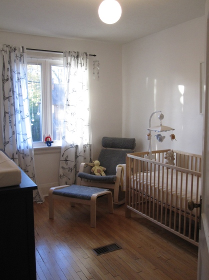 Linden's Room, waiting for her arrival!
