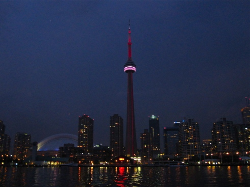 Toronto from the Harbour.