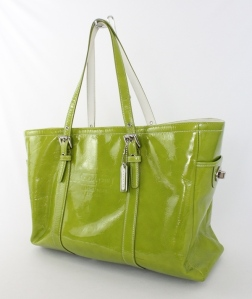 Like my limited edition patent Coach Gallery Tote that still looks as good as the summer I bought it, 12 years ago.