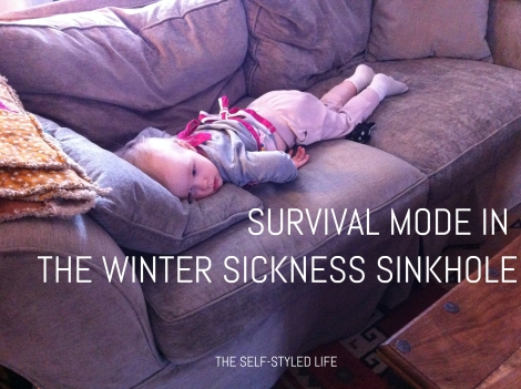 """Survival Mode in the Winter Sickness Sinkhole"" on the self-styled life"