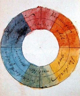 Nursery colour inspiration from Goethe's Colour Wheel