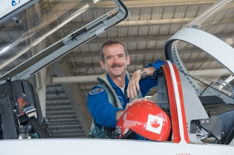 Chris Hadfield. Photo by NASA Johnson on Flickr