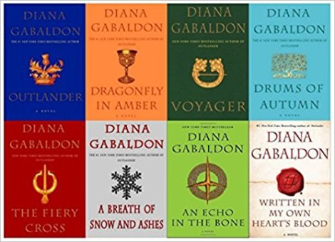 Taking a mental vacation with the Outlander series