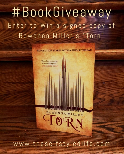 """Torn"" by Rowenna Miller #bookgiveaway on theselfstylelife.com (ends May 11, 2018)"